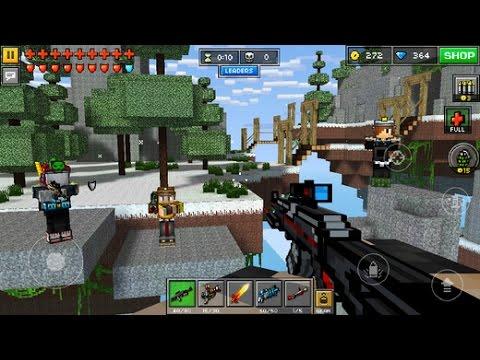 Pixel Gun 3D Minecraft Style - MULTIPLAYER #2 - Team Deathmatch