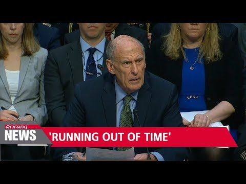U.S. intelligence chief says time is running out for U.S. to confront North Korean threat