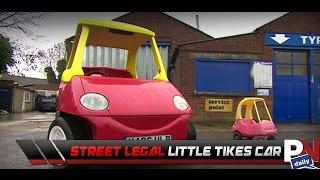 A Street Legal Little Tikes Car