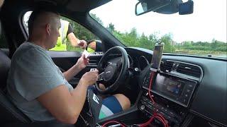 Первый раз в Латвии, Полиция и БОМЖ