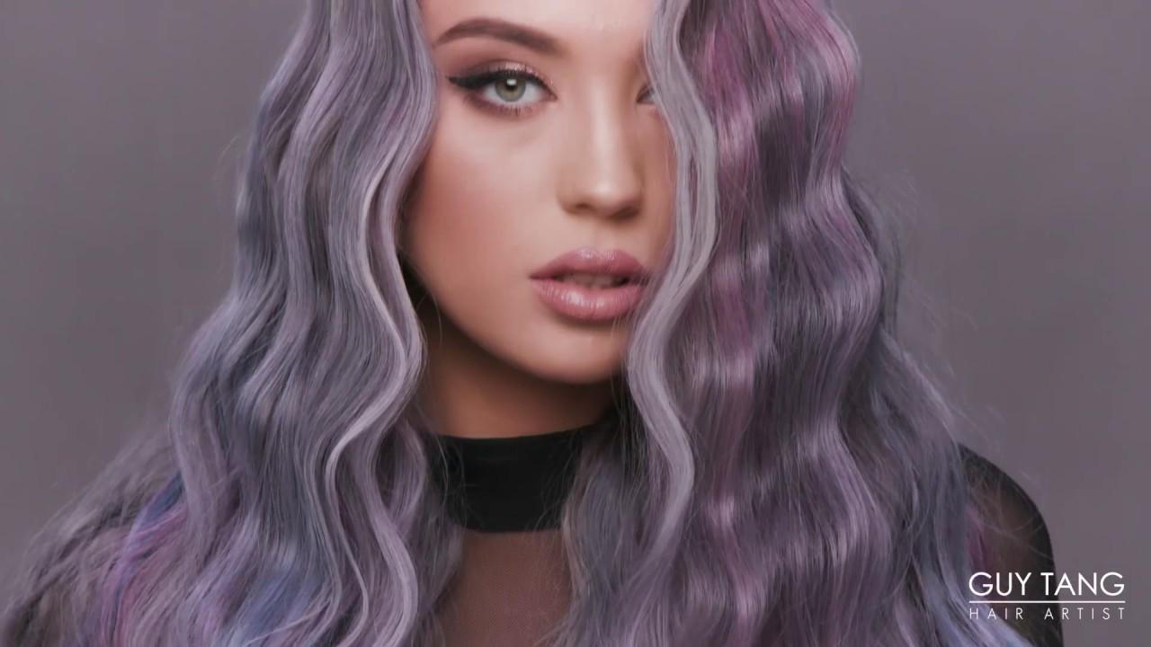 Prismatic Balayage Hair Color - YouTube