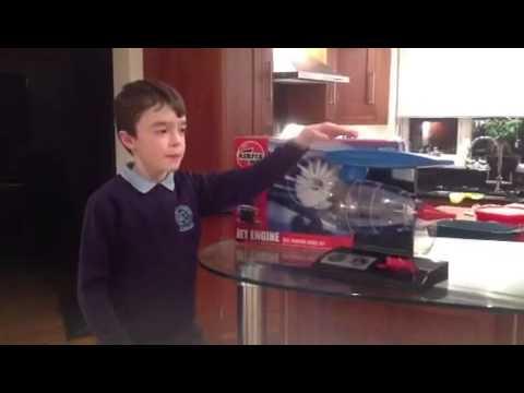 Airfix jet engine kit - YouTube