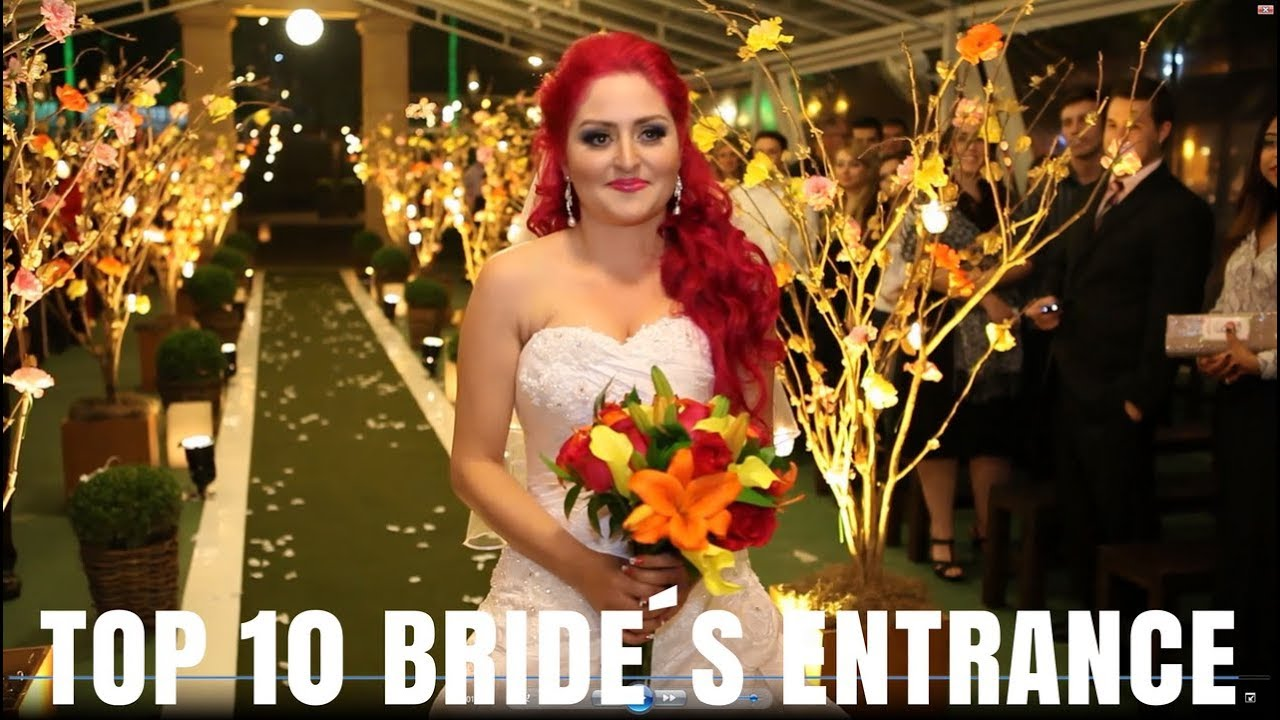 Popular Bridal Entrance Songs: Best Wedding Instrumental Songs For Walking Down The Aisle