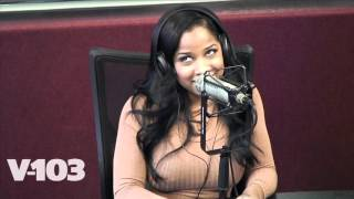 toya wright sits with the ryan cameron morning show w wanda smith