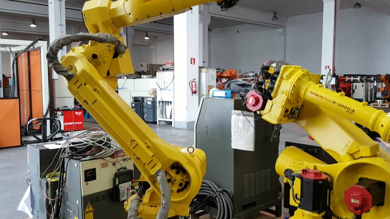 FANUC M20iA industrial robot - 6 axis