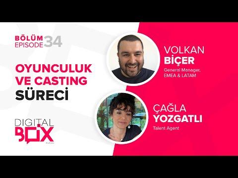 Oyunculuk ve Casting Süreci #adtalks // Volkan Biçer & Çağla Yozgatlı