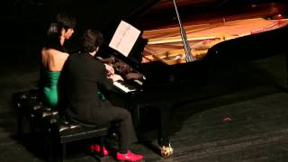 SERGEI RACHMANINOFF Romance in A major, Six Hands