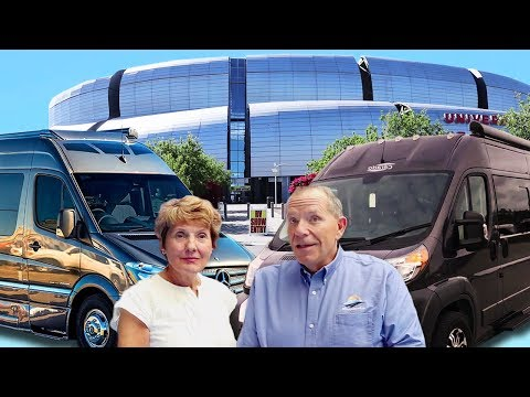Least VS Most Expensive Class B Campervans | Super RV Show