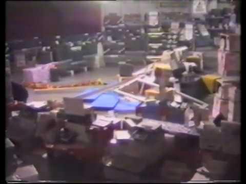 Thieves - ram raid in shopping centre.