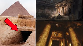 Pyramids Are Not What You Think They Are: Underground Halls Beneath Them