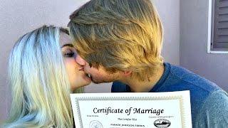 WE GOT MARRIED!?