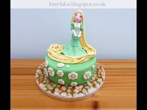 Step By Rapunzel Cake Topper
