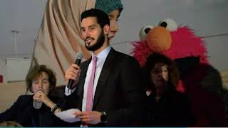 Hassan Jameel speech for Action for Refugee Education