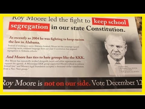 The Fox News - Compare the home campaign flyer roy moore to george wallace, says he supports the se