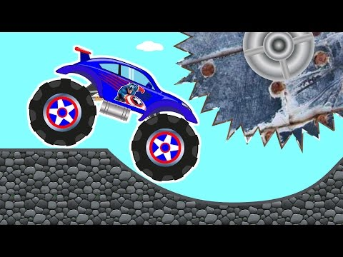 Thumbnail: Monster Truck – Car Repairs & Cool Car Track – Kids Truck – Car Videos for Baby Toddlers
