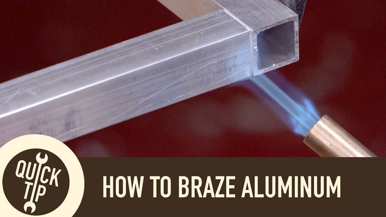 How to Weld Aluminum Without a Welder  YouTube