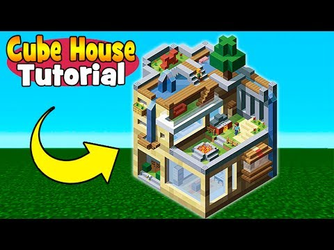 Minecraft Tutorial How To Make Creative Cube House