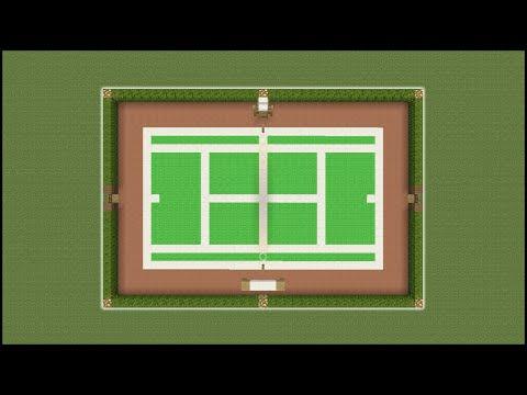 Minecraft Tutorial: How To Make A Tennis Court