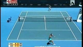 Ana Ivanovic vs Venus Williams 2008 AO Highlights