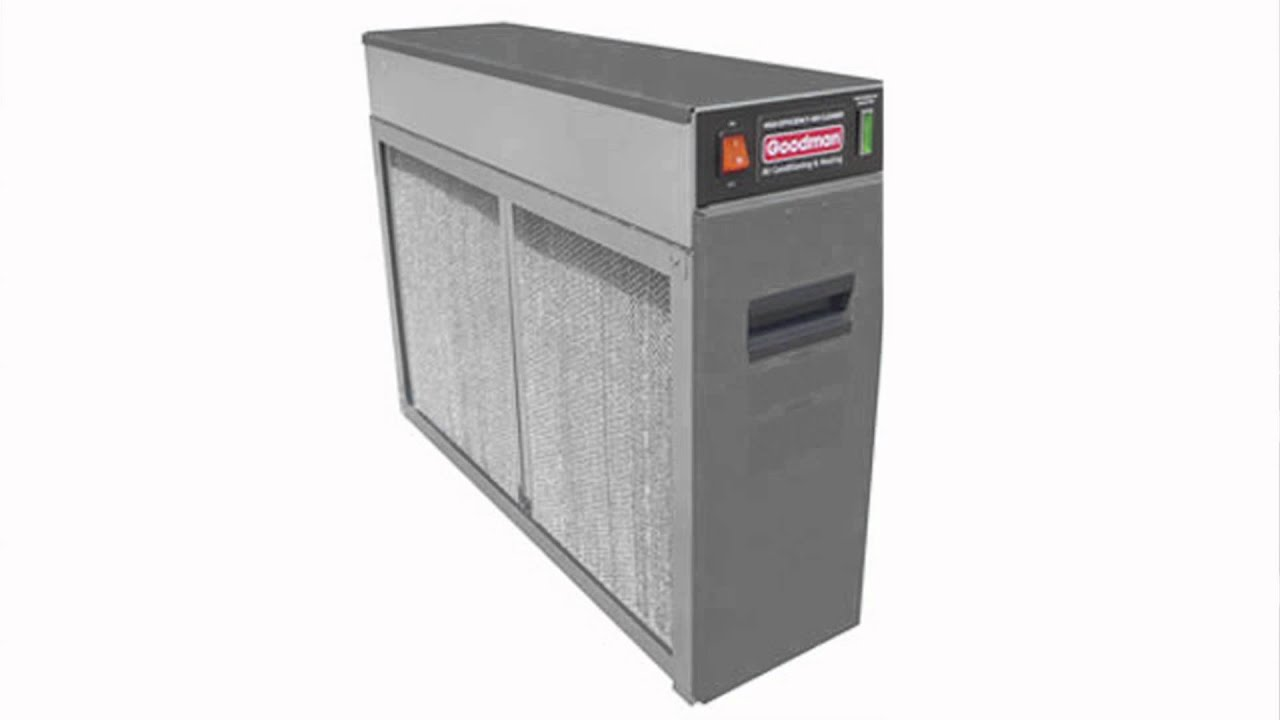Goodman Electronic Air Cleaners | Canada Furnace | 604-460 ...