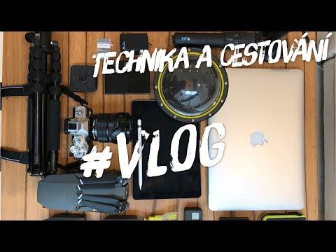 Vlog -  tutorial technika a cestování