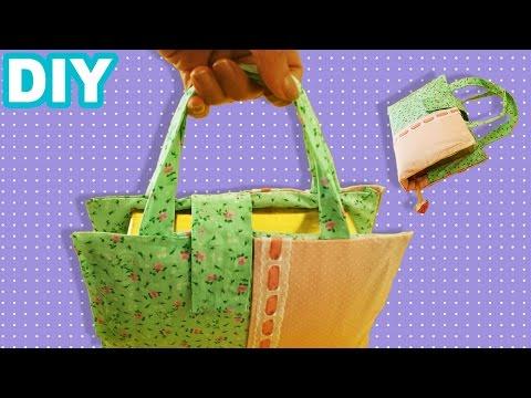 DIY 📚 Capa Bolsa para Livros de tecido...
