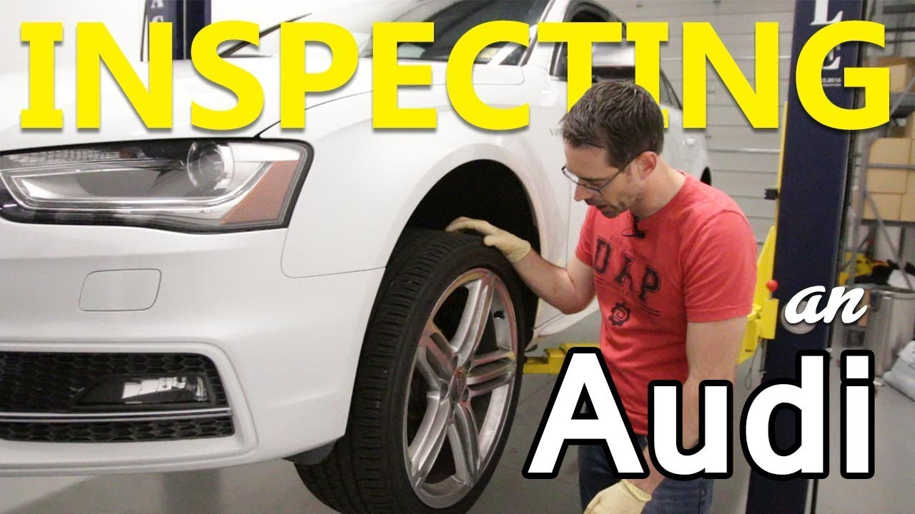 How to Check a B8 5 Audi S4 for Problems