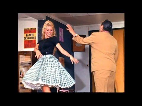 Brigitte Bardot is dancing the Cha Cha Flores