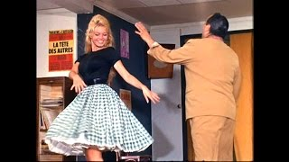 Brigitte Bardot is dancing the Cha Cha Flores