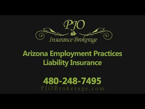 Arizona Employment Practices Liability Insurance by PJO Insurance Brokerage
