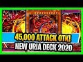 45,000 ATTACK! OTK NEW URIA GAMEPLAY! Lord Of Searing Flames Yugioh Sacred Beast Deck Uria Deck 2020