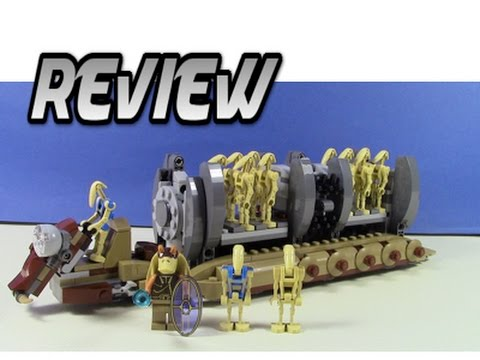 Lego Star Wars Battle Droid Troop Carrier - Set 75086 - YouTube