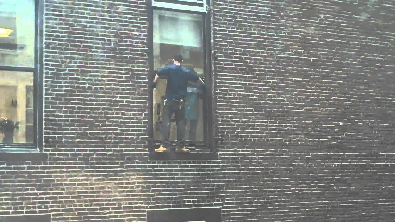 dangerous window washing