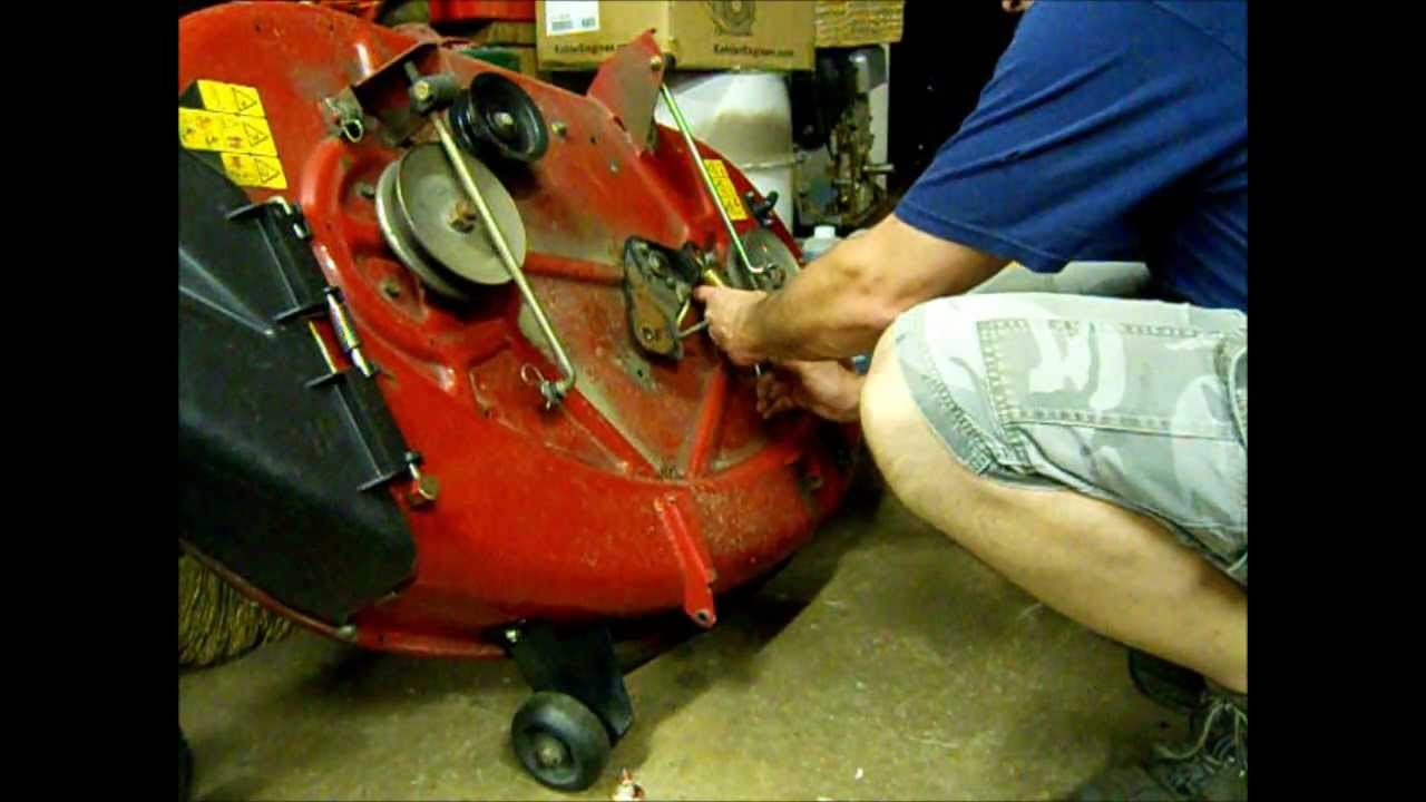 Craftsman 48 Inch Belt Diagram Mower Belt Tensioner Repair Toro Z420 Zero Turn Mower