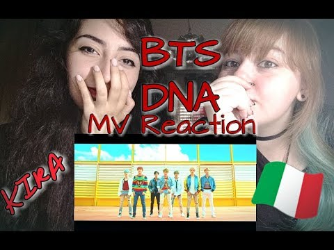 [MV REACTION ITA] BTS (방탄소년단) - 'DNA' W/ Tipa Carina //Kira