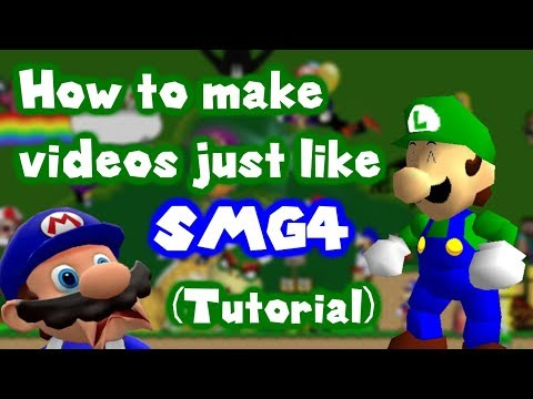 (TUTORIAL) How to make a SMG4 video! thumbnail