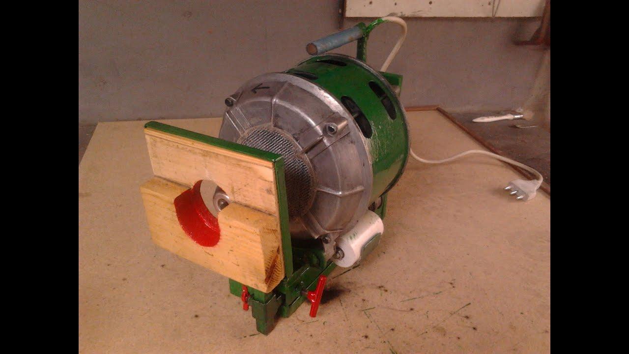Utensile multifunzione da banco con motore lavatrice youtube for Banco da falegname progetto