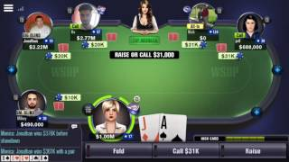 How to Lose $1,000,000 + (World Series of Poker) WSOP app game
