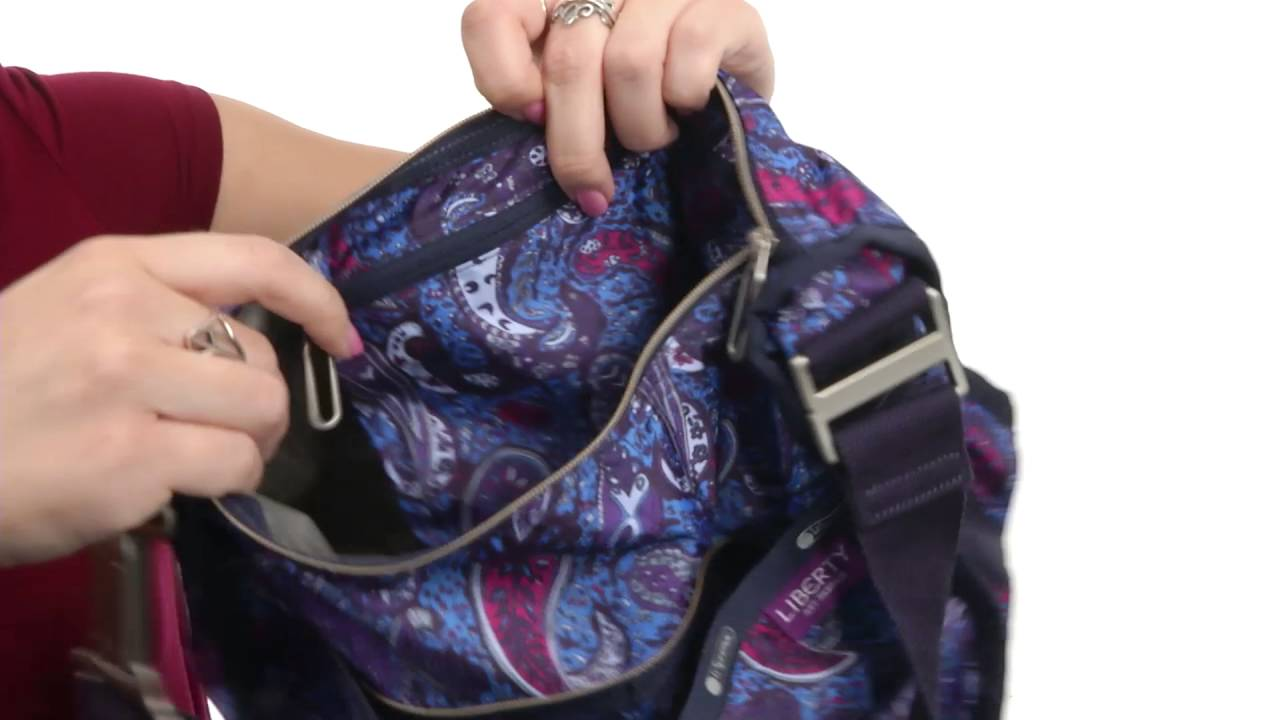 cb696256eccf LeSportsac Essential Hobo SKU 8807038 - YouTube