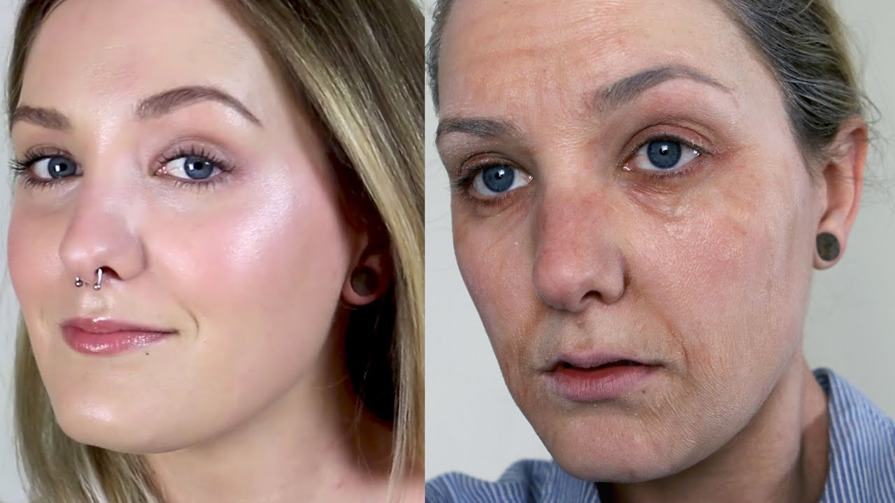How to do old lady makeup