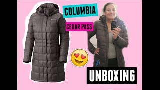 COLUMBIA CEDAR PASS LONG DOWN JACKET UNBOXING