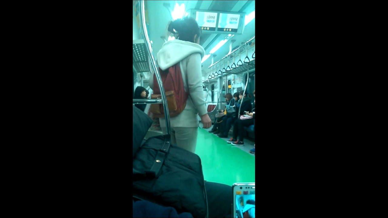 지하철아줌마