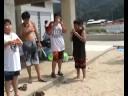 Spittin' seedz - a beach game in Japan