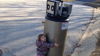 Adorable Kid Mistakes A Water Heater For a Robot | What's Trending Now!