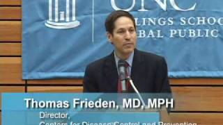 CDC Director Thomas Frieden visits UNC Gillings School of Global Public Health