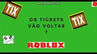 I biglietti torneranno? Roblox
