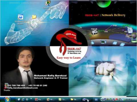 Live working with Access point configuration Wireless Network By Ustad Barekzai