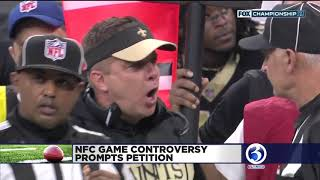 Saints fans calling for a rematch after NFC Championship against the Rams