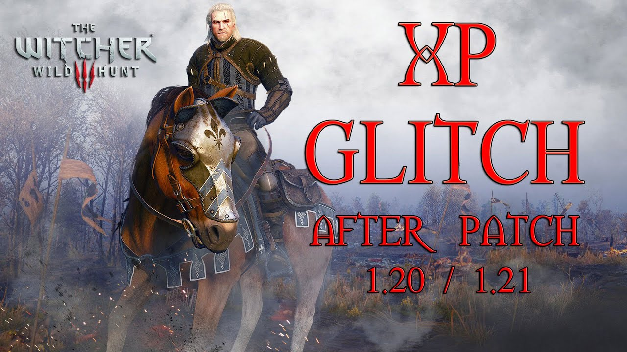 PATCHED - The Witcher 3 : Wild Hunt - XP Glitch after all patches - PATCHED  WITH 1 22