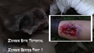 The Walking Dead Inspired Zombie Bite  | Goretorial | -Zombie Series Part 1-